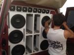 """Caja de Sonido tipo turbo con medios Danon de 10"""""""