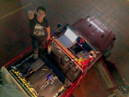instalaciones de sonido y alarmas para carro