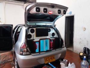 Cajas acústicas de sonido para carro personalizadas