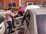 pelicula y polarizado del carro