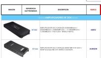 Amplificadores HERTZ Clase D COMPETENCIA, MONTAJES EN FIBRA DE VIDRIO, Bandejas de sonido en fibra de vidrio, Cajas Acústicas tipo Turbo, Caja de sonido para automóviles, Radios de Usb, Mp3, Pantalla Dvd, Aux, Cabeceros de Monitor, Espejos de Retrovisor con pantalla, Alarmas Con GPS tracker, Bloqueo electrónico de encendido de motor.