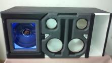 Caja Acústica Turbo y medios