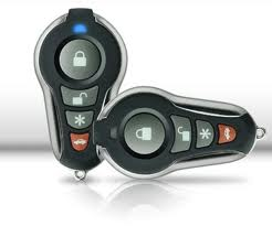 Control remoto de alarma de carro